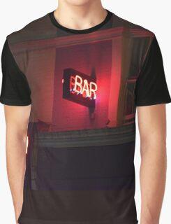 Solitudal Bar Sign Graphic T-Shirt