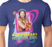 Old Rockers Never Die - 80's Style Marty Jannetty Unisex T-Shirt