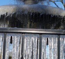 Fountain of Ice Sticker