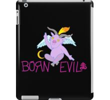 BORN EVIL iPad Case/Skin