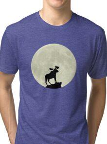 Midnight Moose Tri-blend T-Shirt