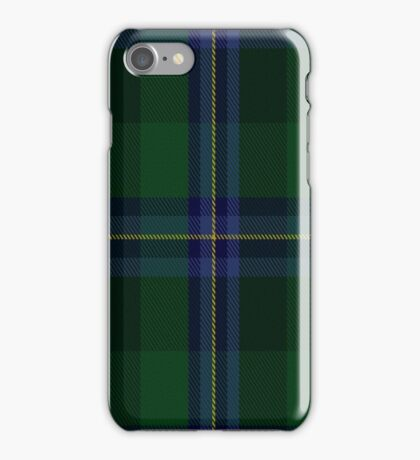 02281 Coat of Waste Unidentified Tartan  iPhone Case/Skin