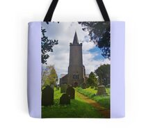 Blessed Virgin Mary Church, Rattery Tote Bag