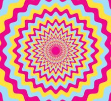 Psychedelic Circle Sticker