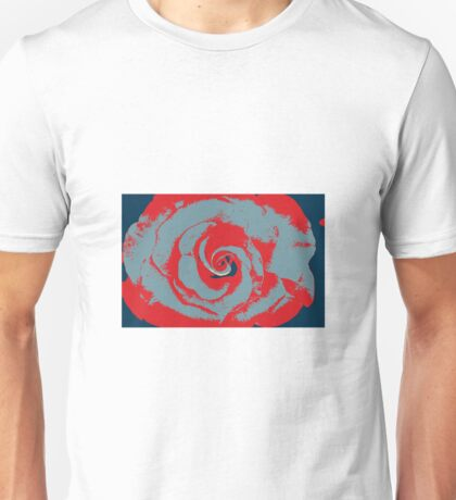 Art Deco Rose Unisex T-Shirt