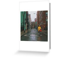 Rainy Delivery Greeting Card