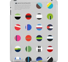 The Teams : Tour de France 2014 iPad Case/Skin