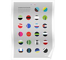 The Teams : Tour de France 2014 Poster