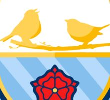 Noel Gallagher's High Flying Birds Crest Sticker