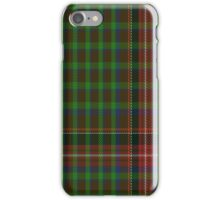 02280 Victorian Yarn Unidentified Tartan  iPhone Case/Skin