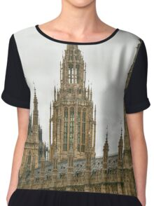 The Center Tower on Westminster Palace Chiffon Top