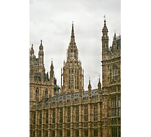 The Center Tower on Westminster Palace Photographic Print