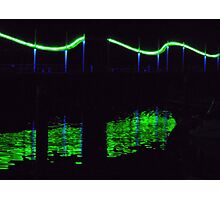 "Whitehaven harbour ""wave light"" Photographic Print"