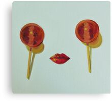 Lollipops Canvas Print