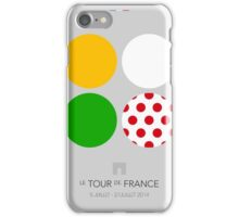 The Jerseys : Tour de France 2014 iPhone Case/Skin