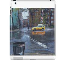 Taxi Standoff iPad Case/Skin