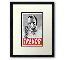 (GEEK) Trevor Framed Print