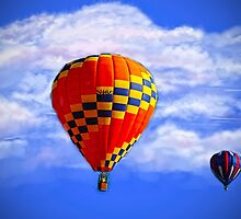 Freebie Hot Air Balloon by MaryTimman