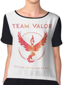 Pokemon GO - Team Valor Chiffon Top