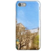 Notre Dame South Facade and Rose Window iPhone Case/Skin