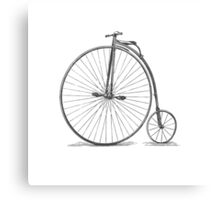 Vintage Penny-Farthing Bicycle Canvas Print