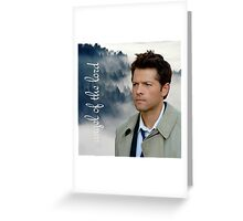 Angel of the Lord - Supernatural Greeting Card