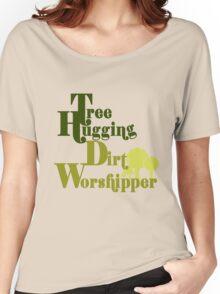 Tree hugger humor Women's Relaxed Fit T-Shirt