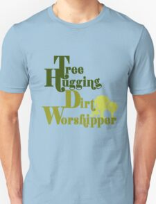 Tree hugger humor T-Shirt