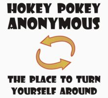Hokey Pokey Turn Yourself Around Kids Tee