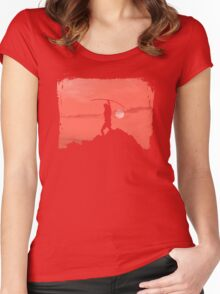 Robin's Last Stand Women's Fitted Scoop T-Shirt