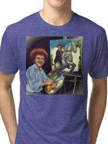 Steve Brule paints Tri-blend T-Shirt