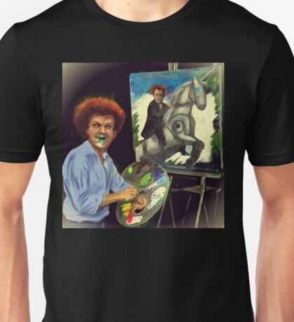 Steve Brule paints Unisex T-Shirt