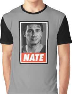 (GEEK) Nathan Drake Graphic T-Shirt