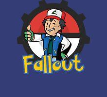 Fallout Vault Boy / Ash Pokemon Crossover Classic T-Shirt