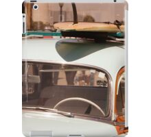 Surfin' USA - Surfboard and Woody iPad Case/Skin