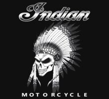 Indian Motorcycle T-shirt by Saint-Perfectio