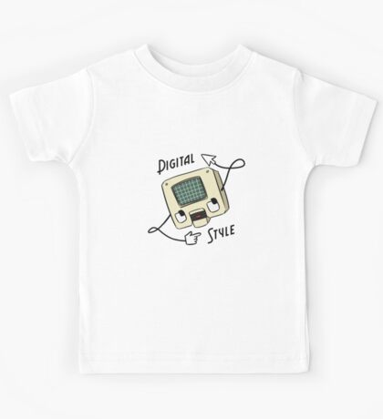 Digital Style Kids Tee