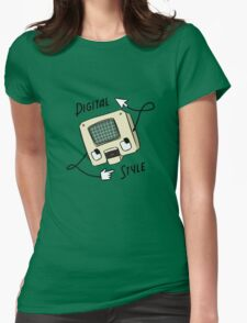 Digital Style Womens Fitted T-Shirt