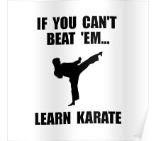 Learn Karate Poster