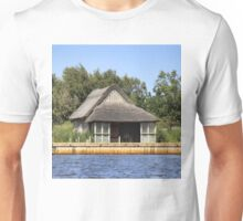 Horsey mere thatched cottage Unisex T-Shirt