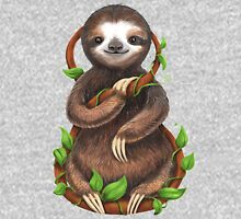Happy Sloth in the Jungle Classic T-Shirt