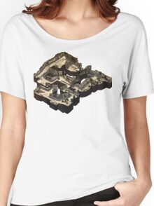 Dust 2 Isometric Poster Women's Relaxed Fit T-Shirt