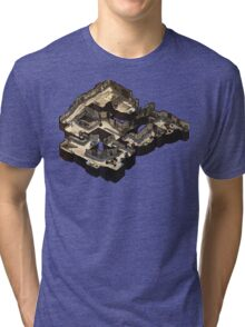 Dust 2 Isometric Poster Tri-blend T-Shirt