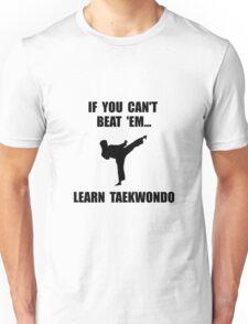 Learn Taekwondo Unisex T-Shirt
