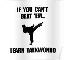 Learn Taekwondo Poster