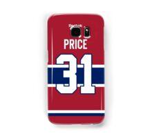 Montreal Canadiens Carey Price Jersey Back Phone Case Samsung Galaxy Case/Skin
