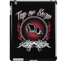 tap or snap iPad Case/Skin