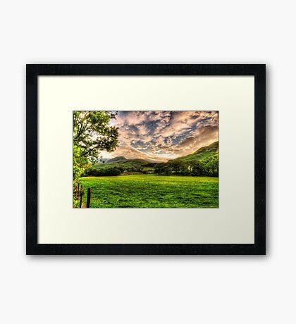 THE LAKE DISTRICT Framed Print