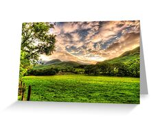 THE LAKE DISTRICT Greeting Card