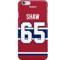 Montreal Canadiens Andrew Shaw Jersey Back Phone Case iPhone Case/Skin